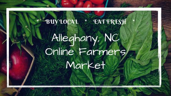 Alleghany Online Farmers Market